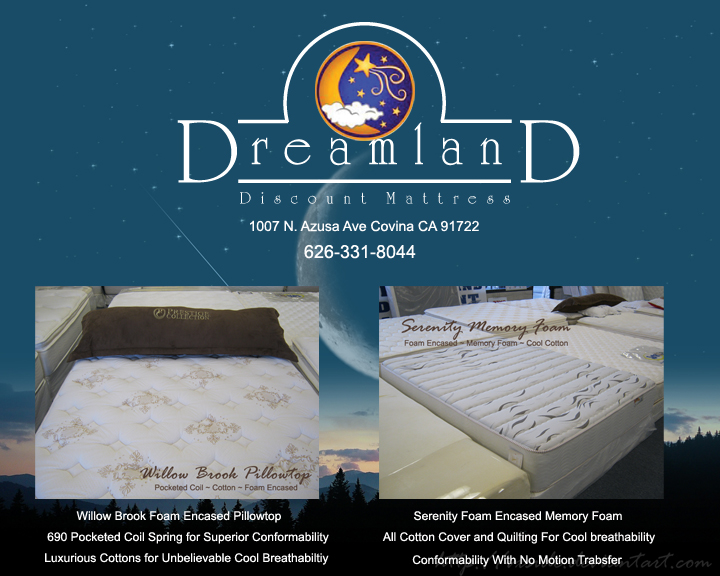 Dreamland Special Mattress Sales